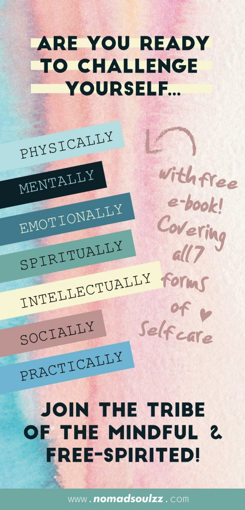 4 Week SOUL CHARGING Self-Care Challenge. In this challenge you will pass by all facades of Self-Care. It