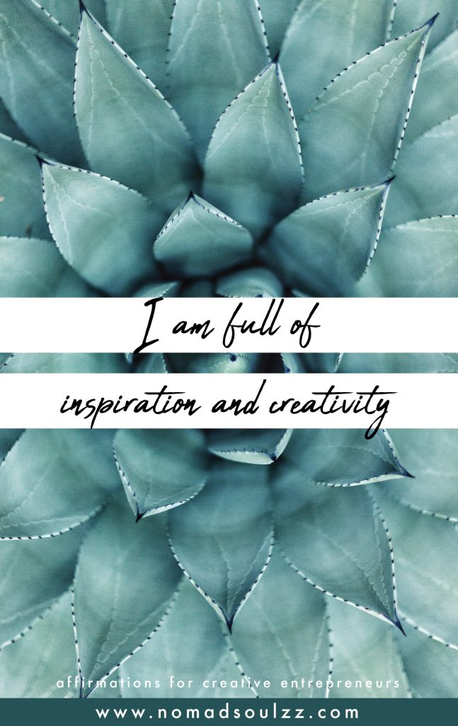 30+ Encouraging, Powerful & Positive Affirmations for Creative Entrepreneurs & Businesses - Sometimes all you need are a few ideas and some inspiration for the right mindset that will boost your succes and career. A healthy mind is a blooming future.