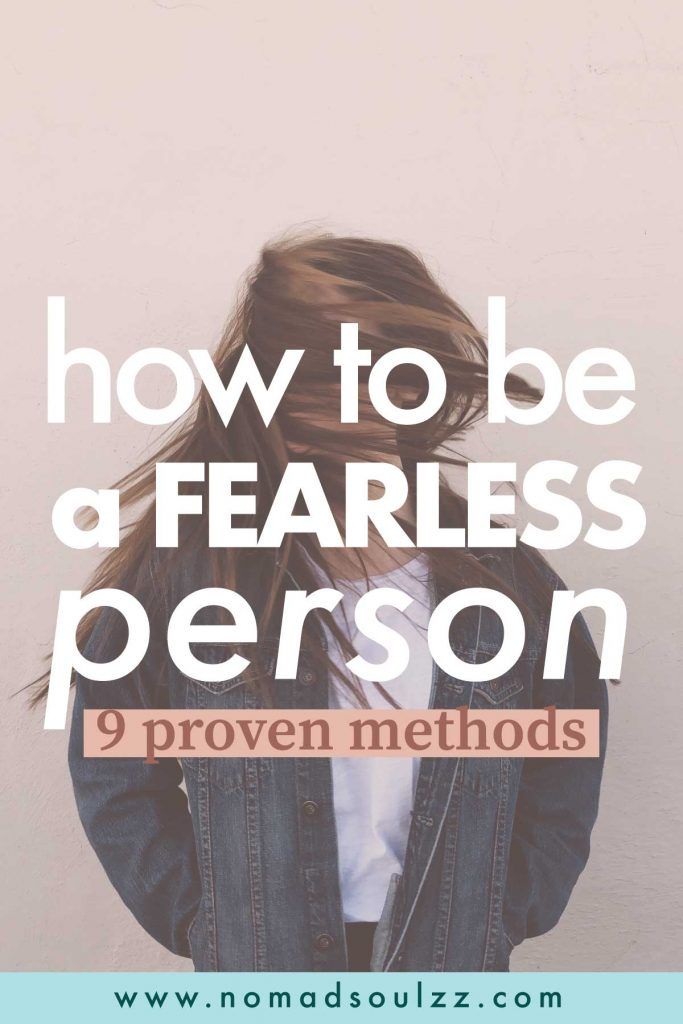 What is the secret of fearless people? Here, the action plans and methods you can start implementing to overcome fears, to enable you to live the life of your dreams!