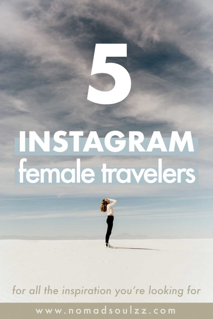 Would you like to fulltime travel, study abroad or live on the road? These wonderful & wanderlust travel women are gonna be your source of life & instagram inspiration and you should go check them out asap!
