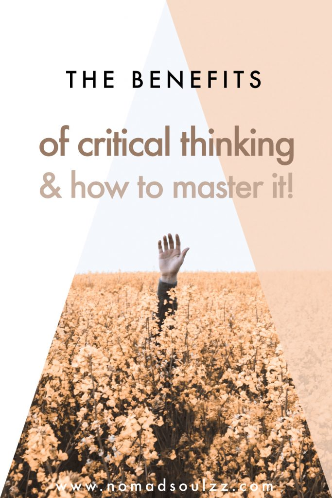 Do you have difficulties filtering what is beneficial from what distracts you? Learn how to think critically and find more mental clarity. Ask the right questions and level up in your mental self-care game.