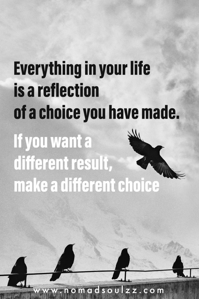 This is a step by step mindful approach to make a decision thoughtfully. Owing the power of choice will allow your to make your dreams in life become true.