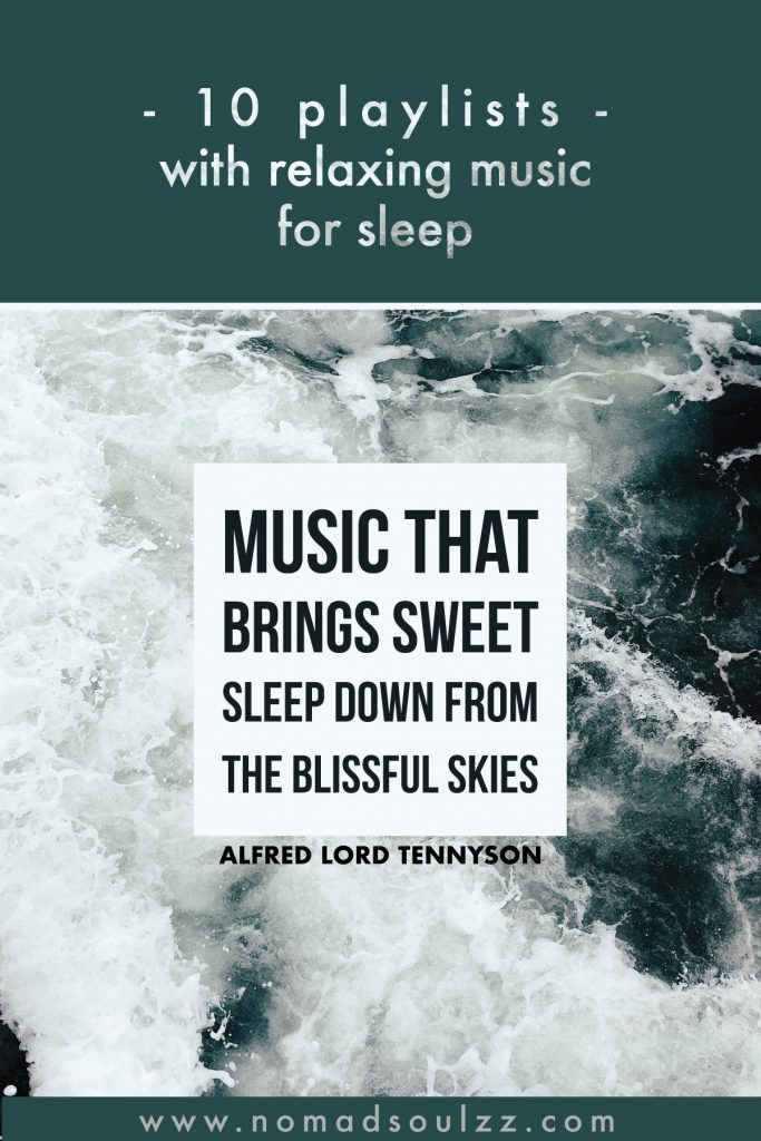 Switch on your speaker, shut your eyes, and sway away soothingly into your bedtime routine with these playlists filled with hours of relaxing music for sleep.