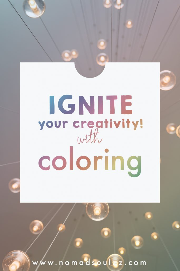 I introduce to you: adult coloring as an inclusive mindful self-care and self-love activity! Reconnect with your inner child and spark creativity back into your every day life. #adultcoloring #selfcareactivity #investinyourself